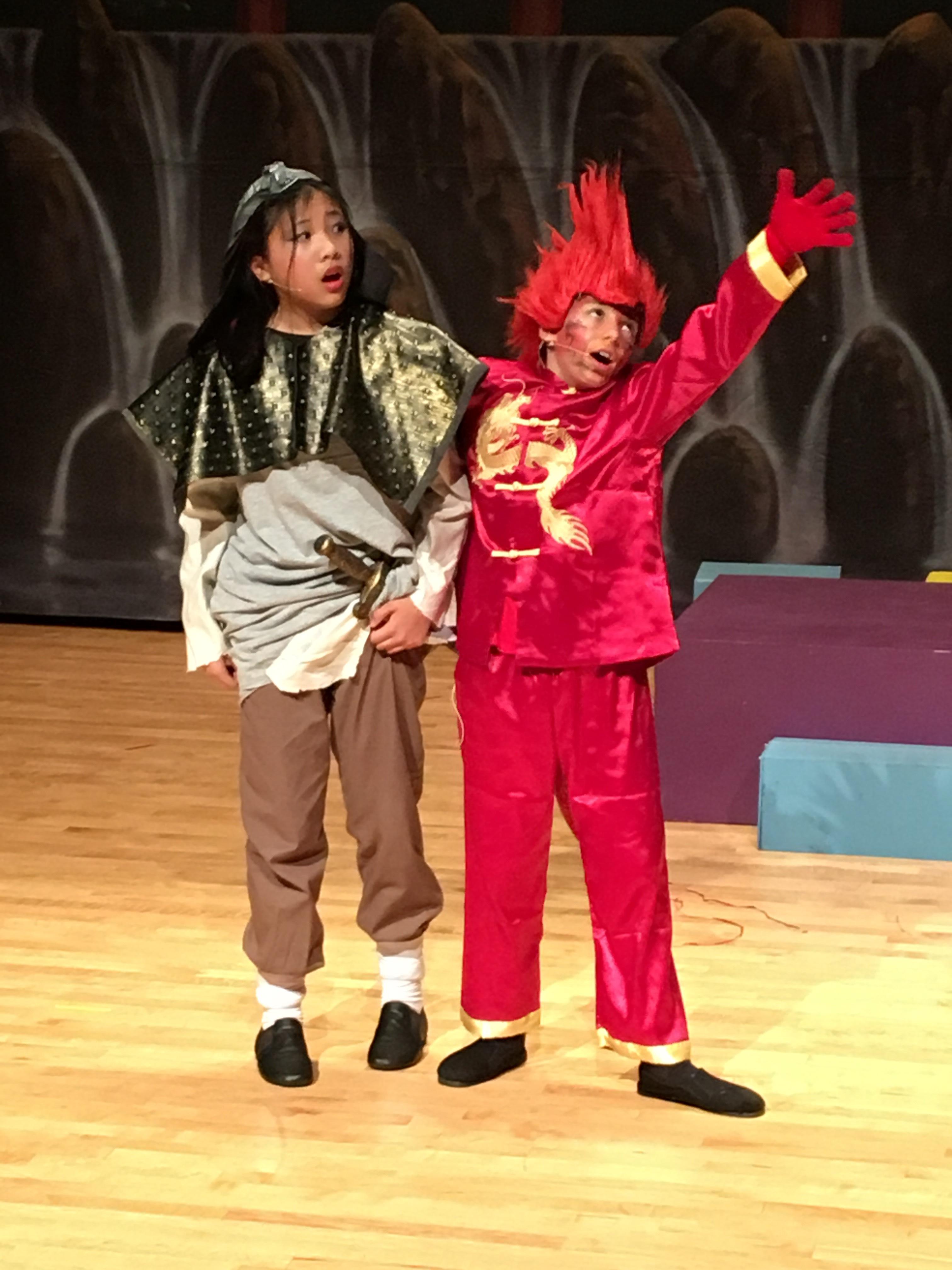 Mulan and mushu (2)