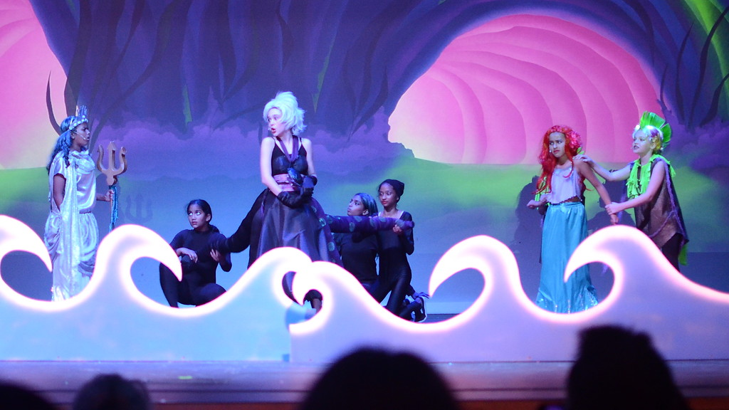 Ursula and King Triton